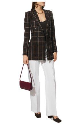 Женские льняные брюки KITON белого цвета, арт. D47105K01057   Фото 2