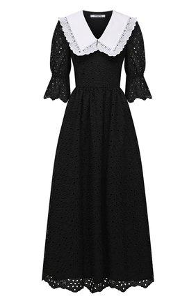 Женское платье VIVETTA черного цвета, арт. 21E V2M0/H141/0082 | Фото 1