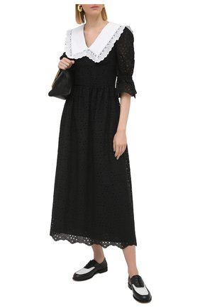 Женское платье VIVETTA черного цвета, арт. 21E V2M0/H141/0082 | Фото 2