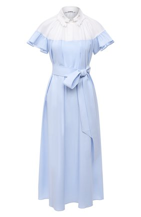 Женское хлопковое платье VIVETTA светло-голубого цвета, арт. 21E V2M0/H071/0650 | Фото 1