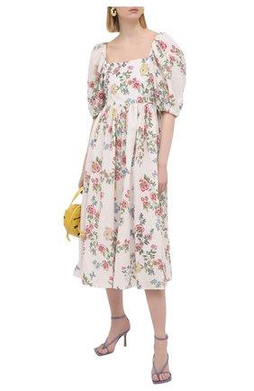 Женское хлопковое платье VIVETTA разноцветного цвета, арт. 21E V2M0/H031/0089 | Фото 2