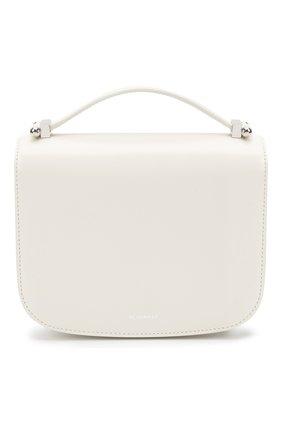 Женская сумка taos small JIL SANDER белого цвета, арт. JSPS853527-WSB00083N | Фото 1