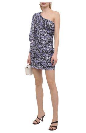 Женское платье из вискозы IRO сиреневого цвета, арт. WM33KALLAR | Фото 2
