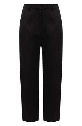 Женские брюки из вискозы TOTÊME черного цвета, арт. 212-252-714   Фото 1