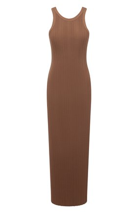 Женское платье из вискозы TOTÊME коричневого цвета, арт. 212-613-755   Фото 1