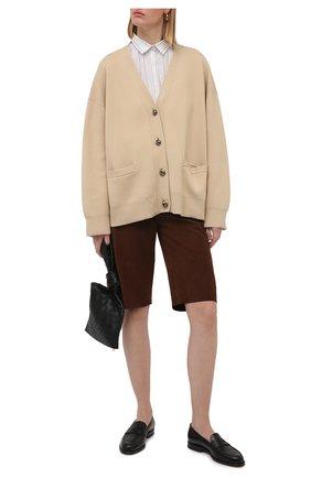 Женская рубашка из вискозы и хлопка TOTÊME белого цвета, арт. 212-756-712   Фото 2