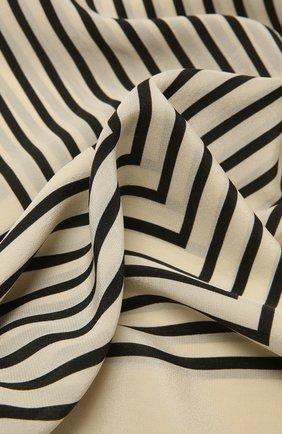Женский шелковый платок TOTÊME бежевого цвета, арт. 212-870-802 | Фото 2