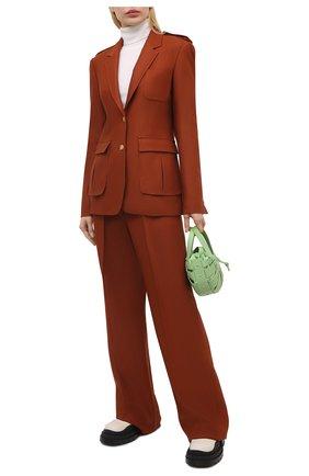 Женский шерстяной жакет GABRIELA HEARST красного цвета, арт. 321515 W055 | Фото 2