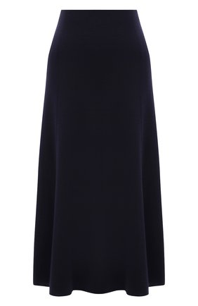 Женская шерстяная юбка GABRIELA HEARST темно-синего цвета, арт. 321307 W054 | Фото 1