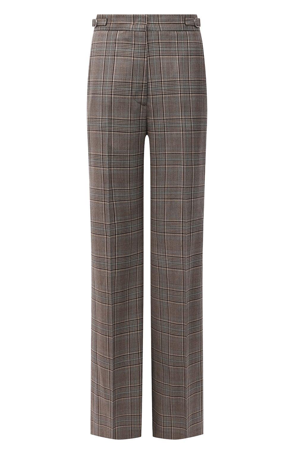 Женские шерстяные брюки GABRIELA HEARST серого цвета, арт. 321200 W047   Фото 1