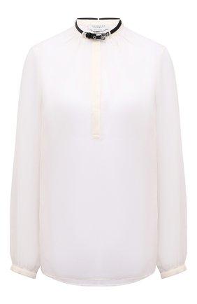 Женская хлопковая блузка GABRIELA HEARST светло-бежевого цвета, арт. 321121 S038   Фото 1