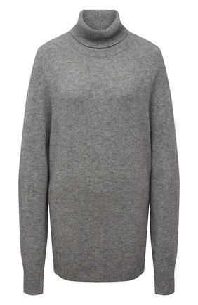 Женский свитер из шерсти и кашемира THE ROW серого цвета, арт. 5583Y184 | Фото 1