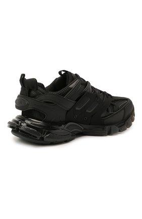 Мужские комбинированные кроссовки track BALENCIAGA черного цвета, арт. 647742/W3BM1   Фото 4 (Материал внешний: Текстиль; Стили: Гранж; Материал внутренний: Текстиль; Подошва: Массивная)