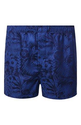 Мужские хлопковые боксеры DEREK ROSE темно-синего цвета, арт. 6050-PARI019 | Фото 1