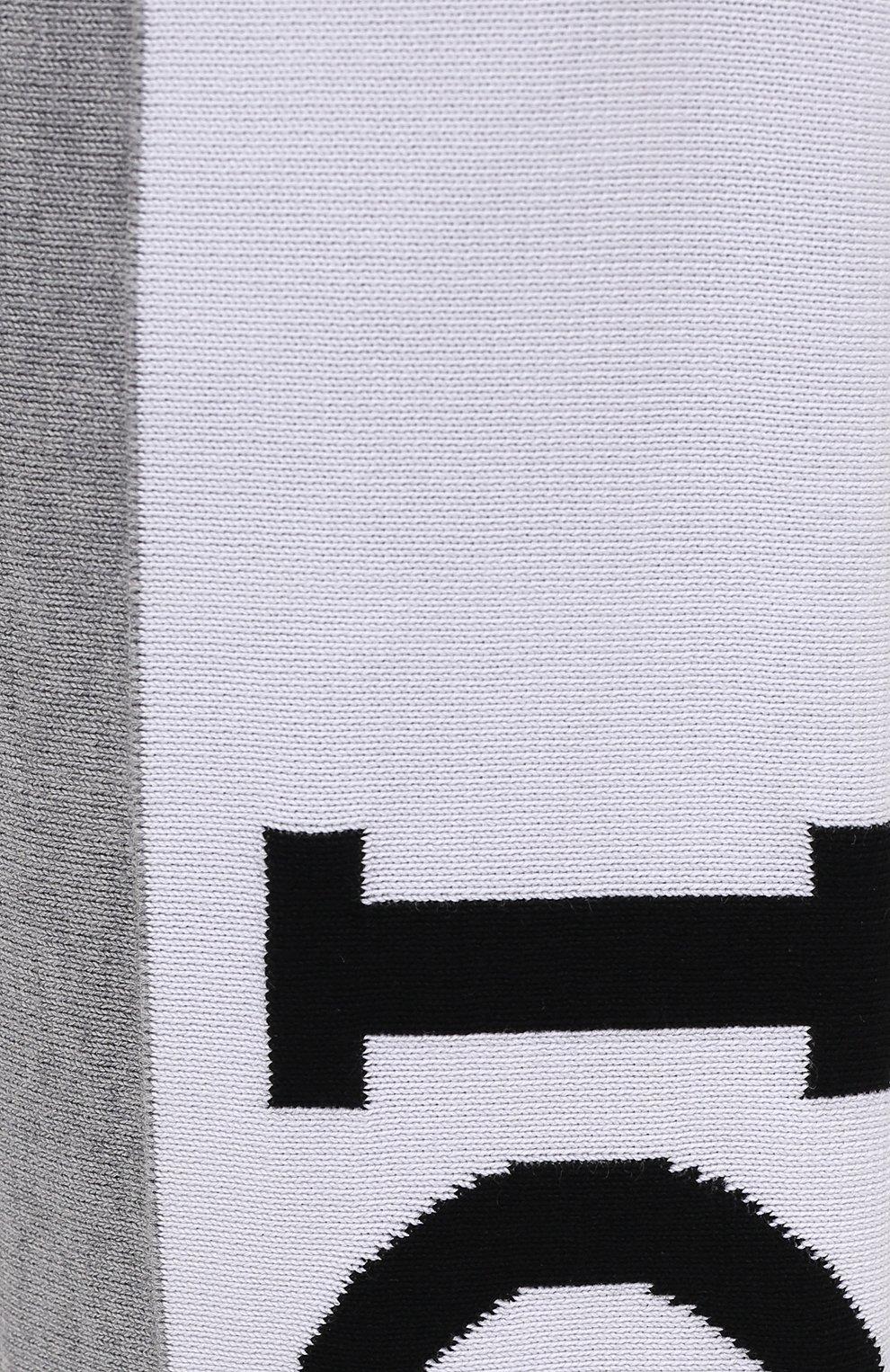 Мужские хлопковые джоггеры ICEBERG серого цвета, арт. 21E I1P0/AB05/7604 | Фото 5 (Кросс-КТ: Спорт; Материал внешний: Хлопок; Стили: Спорт-шик; Силуэт М (брюки): Джоггеры; Длина (брюки, джинсы): Укороченные)