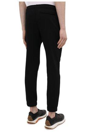 Мужские хлопковые джоггеры KENZO черного цвета, арт. FB55PA7114ML   Фото 4 (Длина (брюки, джинсы): Стандартные; Материал внешний: Хлопок; Стили: Спорт-шик; Силуэт М (брюки): Джоггеры)