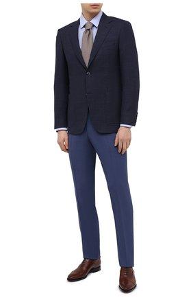 Мужской шерстяной пиджак CANALI темно-синего цвета, арт. 23288/CF03169/116 | Фото 2