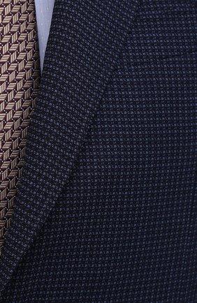 Мужской шерстяной пиджак CANALI темно-синего цвета, арт. 23288/CF03169/116   Фото 5