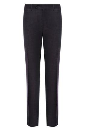Мужские шерстяные брюки CANALI темно-фиолетового цвета, арт. 71019/AA02524 | Фото 1