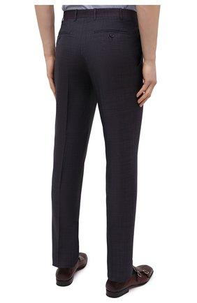 Мужские шерстяные брюки CANALI темно-фиолетового цвета, арт. 71019/AA02524   Фото 4