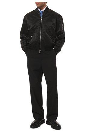 Мужская хлопковая сорочка CANALI белого цвета, арт. N705/GR01592 | Фото 2 (Рукава: Длинные; Материал внешний: Хлопок; Длина (для топов): Стандартные; Случай: Формальный; Манжеты: На пуговицах; Воротник: Акула; Рубашки М: Regular Fit; Принт: Однотонные; Стили: Классический)