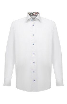 Мужская хлопковая сорочка ETON белого цвета, арт. 1000 02239 | Фото 1