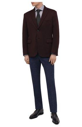 Мужские кожаные дерби BERLUTI темно-серого цвета, арт. S5269-001   Фото 2