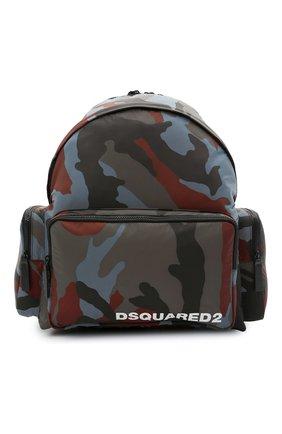 Мужской текстильный рюкзак DSQUARED2 разноцветного цвета, арт. BPM0045 11703887   Фото 1