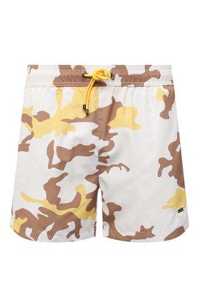Мужские плавки-шорты BOSS светло-бежевого цвета, арт. 50446587 | Фото 1