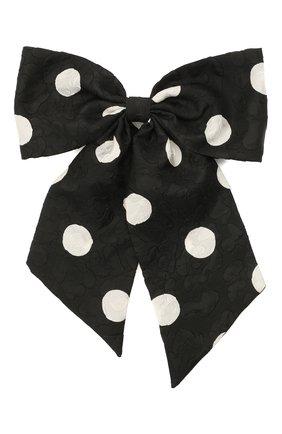 Женская заколка FLOWER ME черно-белого цвета, арт. ZBOW-NS003030XL | Фото 1