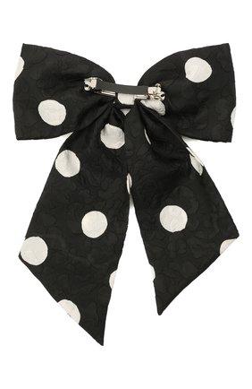Женская заколка FLOWER ME черно-белого цвета, арт. ZBOW-NS003030XL | Фото 2