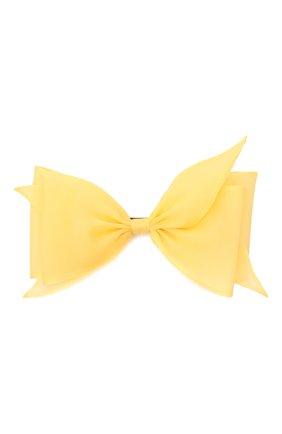 Женская заколка FLOWER ME желтого цвета, арт. ZBOW-NS007010L | Фото 1