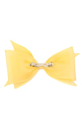 Женская заколка FLOWER ME желтого цвета, арт. ZBOW-NS007010L | Фото 2