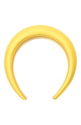 Женский ободок для волос FLOWER ME желтого цвета, арт. HAIRBAND-NS007010L | Фото 1