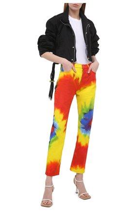 Женские джинсы ALEXANDRE VAUTHIER разноцветного цвета, арт. 211PA1402 1418-211 | Фото 2