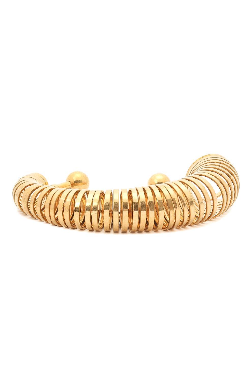 Женский браслет baguier JACQUEMUS золотого цвета, арт. 211JW08 | Фото 1