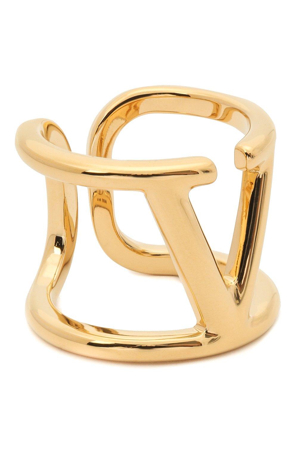 Женское кольцо  valentino garavani vlogo VALENTINO золотого цвета, арт. VW2J0E22/MET | Фото 1