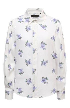 Женская рубашка ISABEL MARANT светло-голубого цвета, арт. HT2051-21P020I/BEDRISSA   Фото 1