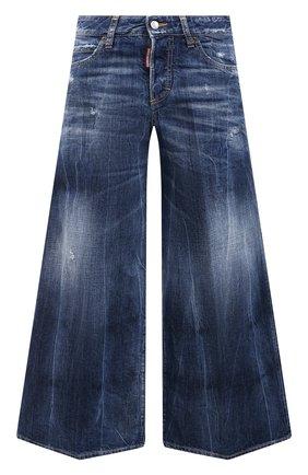 Женские джинсы DSQUARED2 темно-синего цвета, арт. S72LB0398/S30309 | Фото 1