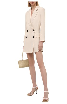 Женское платье SELF-PORTRAIT светло-бежевого цвета, арт. SS21-017 | Фото 2