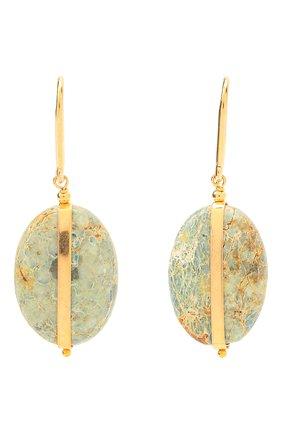 Женские серьги ISABEL MARANT золотого цвета, арт. BL0907-21P025B   Фото 1