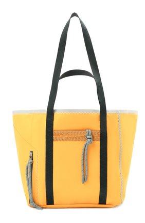 Женский сумка-тоут jwa 1 moncler jw anderson MONCLER желтого цвета, арт. G1-09E-5D700-00-02SW2   Фото 1
