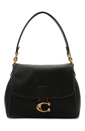 Женская сумка may COACH черного цвета, арт. 3954   Фото 1