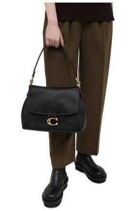 Женская сумка may COACH черного цвета, арт. 3954   Фото 2