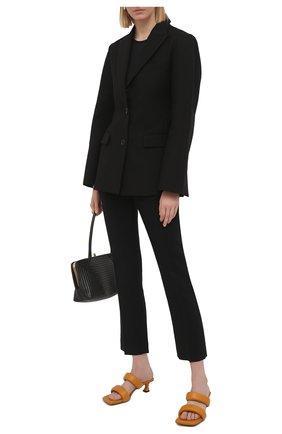 Женские кожаные мюли PROENZA SCHOULER коричневого цвета, арт. PS35051A/13005 | Фото 2