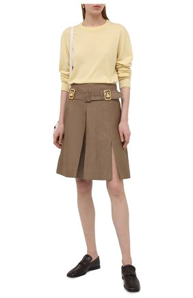Женский шерстяной пуловер LORO PIANA  цвета, арт. FAL6605/VVIC | Фото 2