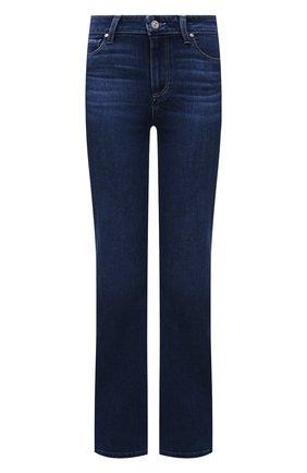 Женские джинсы PAIGE темно-синего цвета, арт. 6487F46-4779   Фото 1