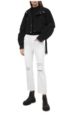 Женские джинсы PAIGE белого цвета, арт. 6181208-3525 | Фото 2