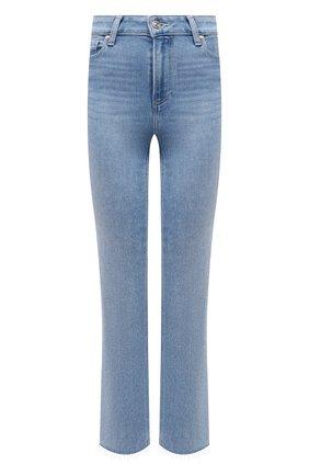 Женские джинсы PAIGE голубого цвета, арт. 5512E77-3261   Фото 1