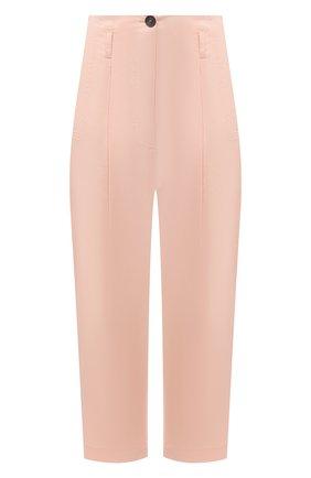 Женские хлопковые брюки TELA светло-розового цвета, арт. 01 0157 14 8028 | Фото 1